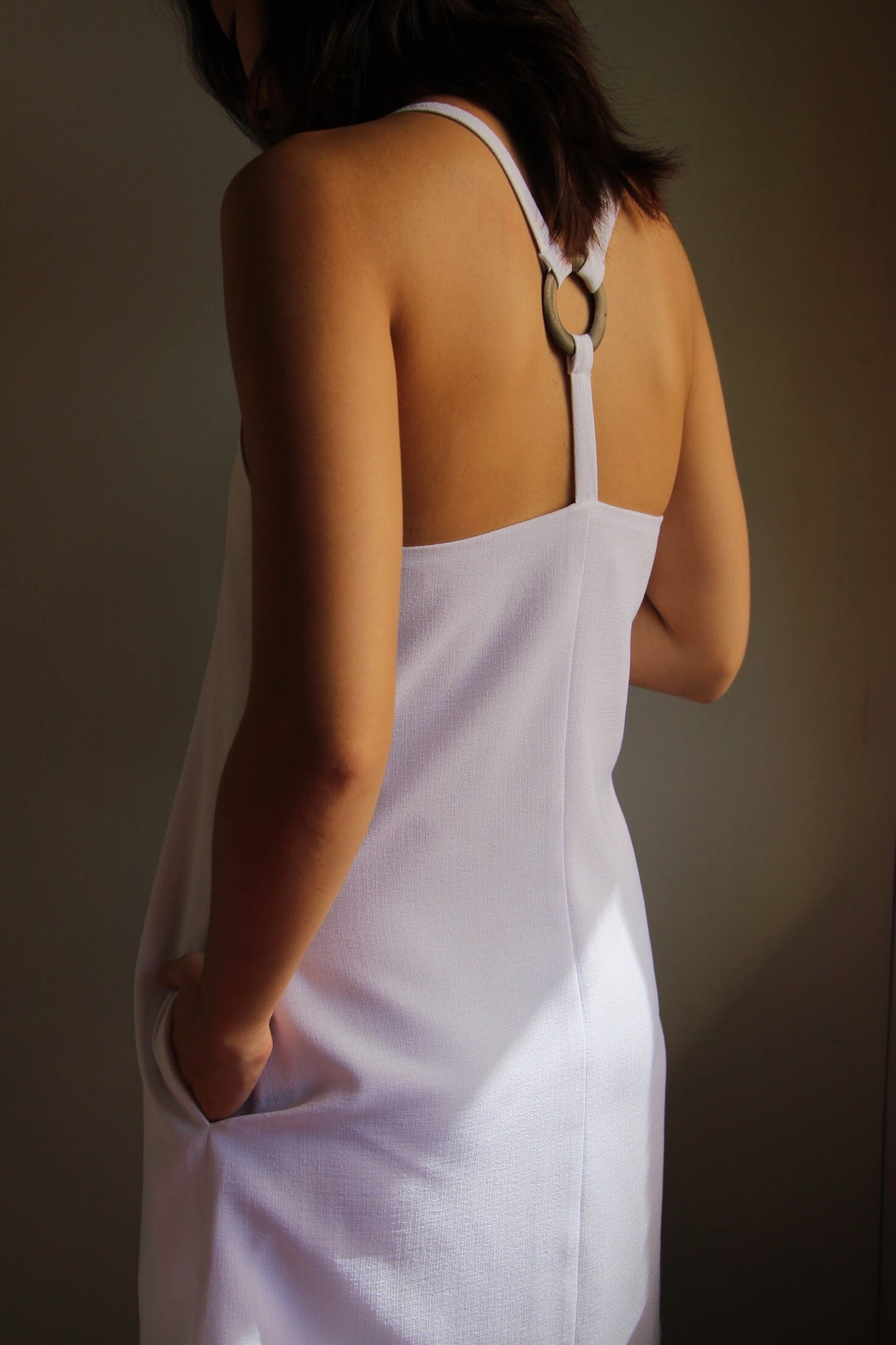 Anillo Dress in Ivory