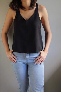 Anillo Top in Charcoal