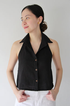 Ligera Top in Charcoal