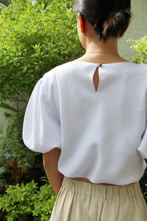 Nube Top in Ivory