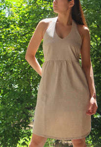 Olas Dress in Oat