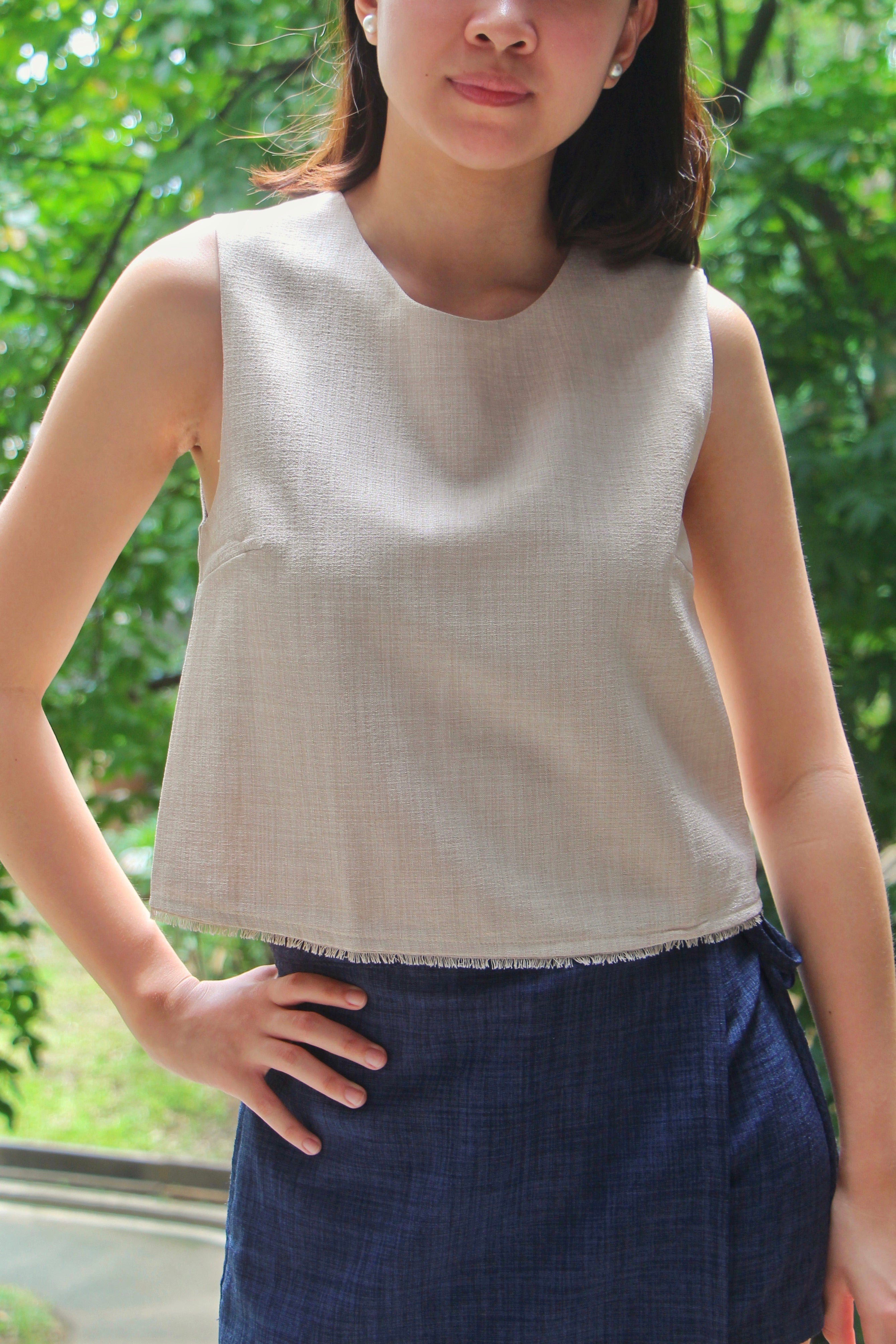 Dulce Top in Oat