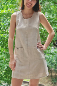 Dulce Dress in Oat