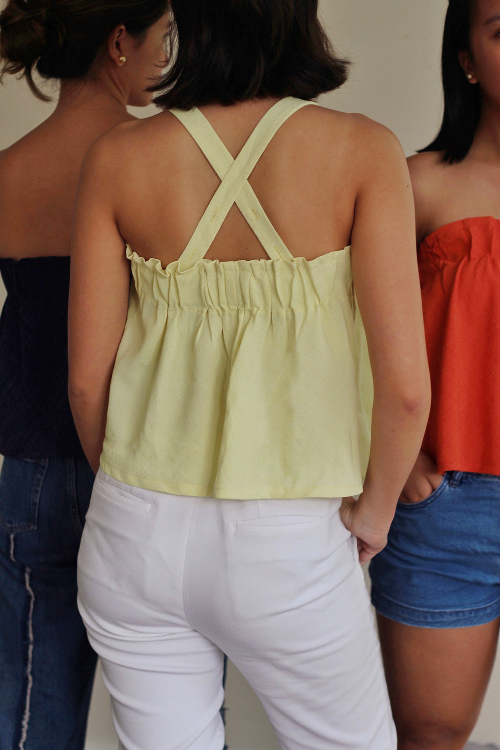 Brisa Top in Lemon