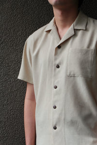 Men's Cuello Top in Oat