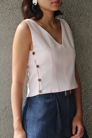 Bella Top in Blush