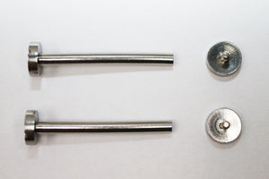 Screw Tube Pins Set For 42 MM Cartier Pasha Seatimer Lug #3 (22MM Size)