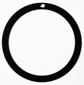 Bezel Insert For Seiko SKX007 -  6105-8110 7002 6309 7S26-0020 6306 7548 - Black