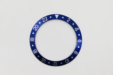Load image into Gallery viewer, Bezel Insert Aluminum For Rolex GMT 1675/16750 Blue Blueberry