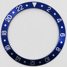 Load image into Gallery viewer, Bezel Insert Aluminum For Rolex GMT Blueberry