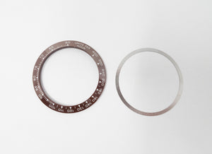 Bezel Insert For Rolex Daytona- Brown/Chocolate With Flat Tension