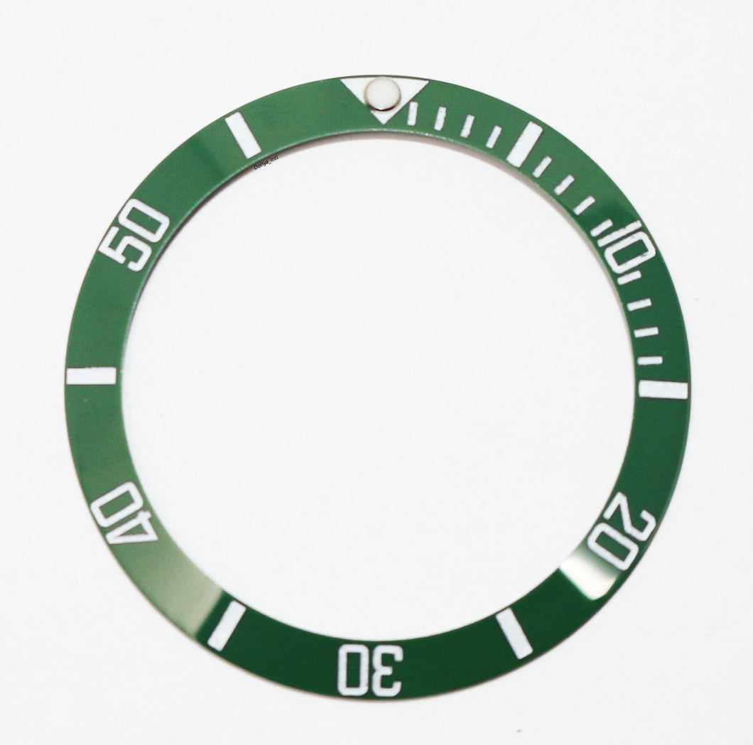 Bezel Insert Ceramic For Rolex Submariner Kermit Green 50th Anniversary