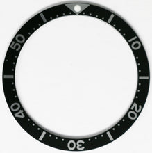 Load image into Gallery viewer, Bezel Insert For Seiko SKX007 -  6105-8110 7002 6309 7S26-0020 6306 7548 - Black