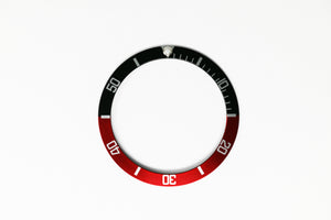 Bezel Insert For Rolex Submariner - Black/Red Coke