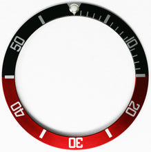 Load image into Gallery viewer, Bezel Insert For Rolex Submariner - Black/Red Coke
