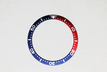 Load image into Gallery viewer, Bezel Insert For Seiko SKX007/009/011 (Red/Blue Pepsi)