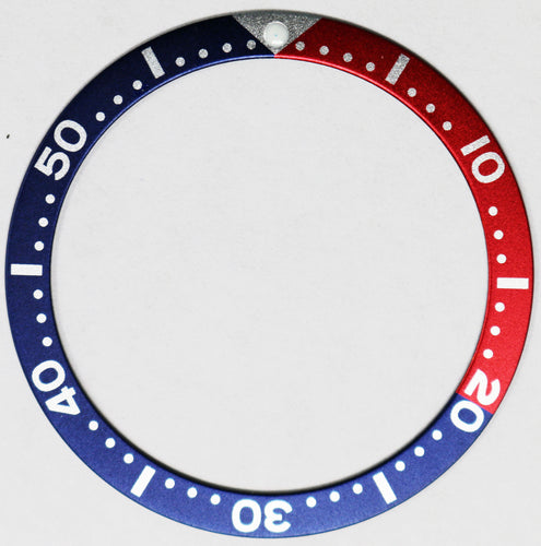 Bezel Insert For Seiko SKX007/009/011 (Red/Blue Pepsi)