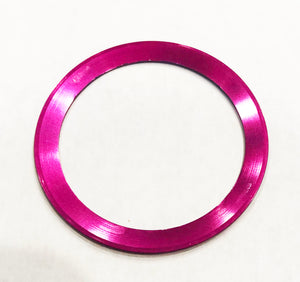 Bezel Insert Aluminum For Rolex GMT Fuchsia With Red/Pink Back -Pink Panther