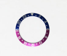 Load image into Gallery viewer, Bezel Insert Aluminum For Rolex GMT Fuchsia 1675/16750 - Pink Panther