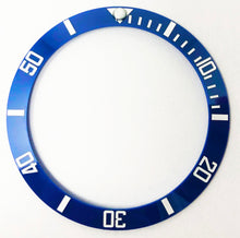 Load image into Gallery viewer, Bezel Insert Ceramic Fits For Rolex Submariner - Smurf/Blueberry Blue