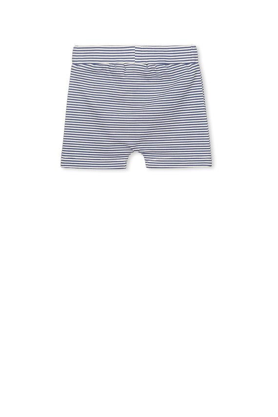 Blue Stripe Short