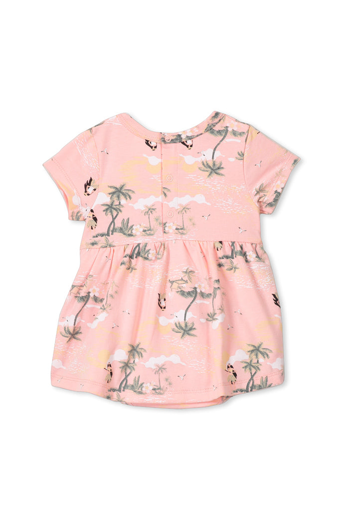 Hula Girl Baby Dress
