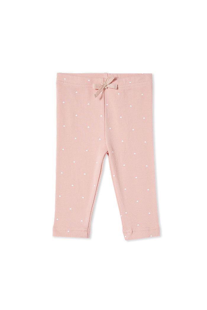 Milky | Misty Rose Rib Pants