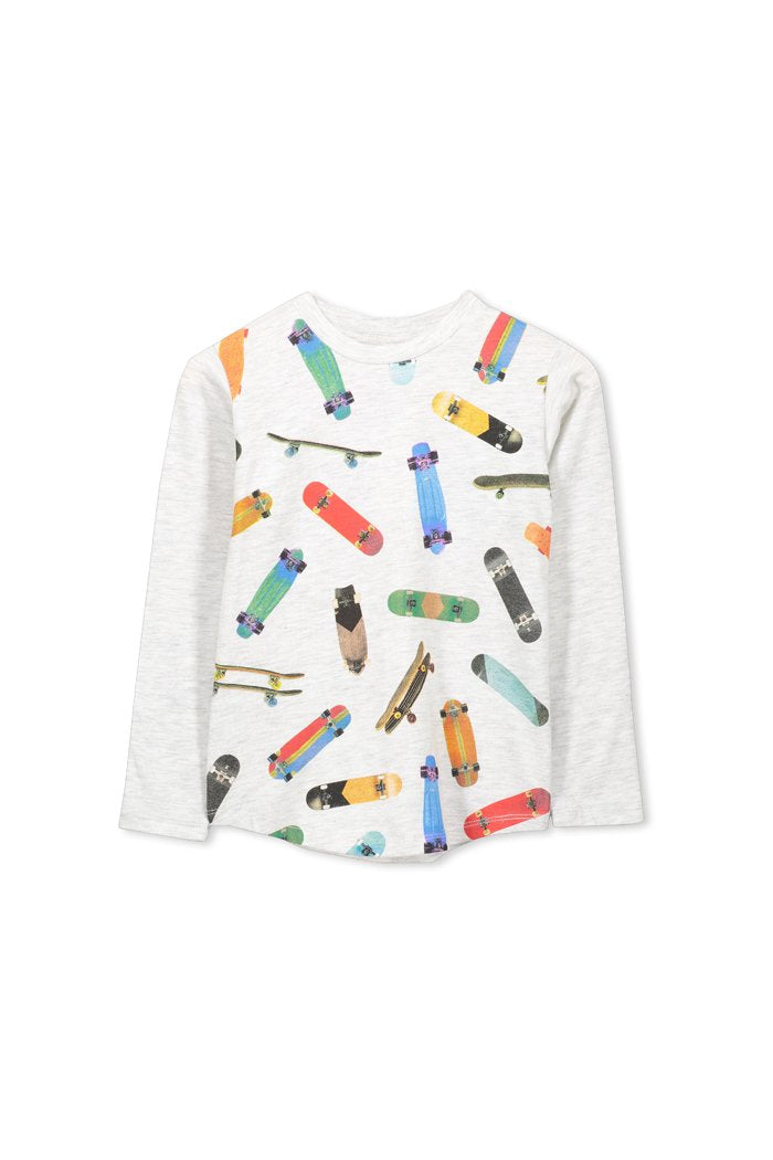 Skateboard Long Sleeve T-Shirt - Priced from $29.95