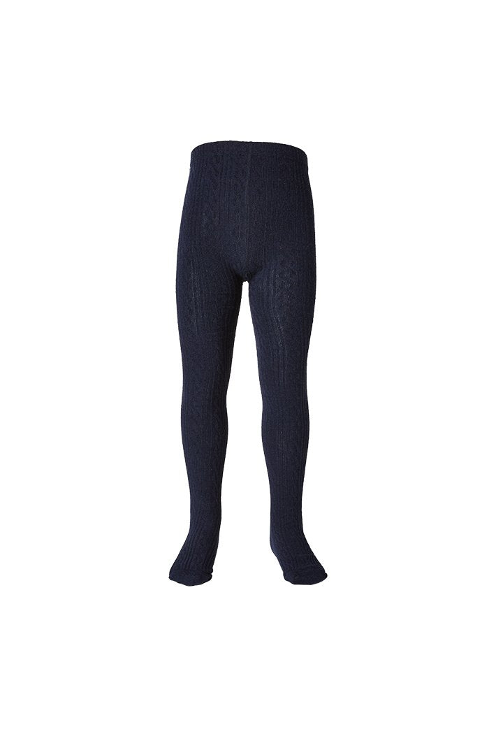 Milky | Jaquard Tights | Navy | Pricing from $14.95