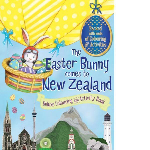 The Easter Bunny Comes to New Zealand - Colouring and Activity Book