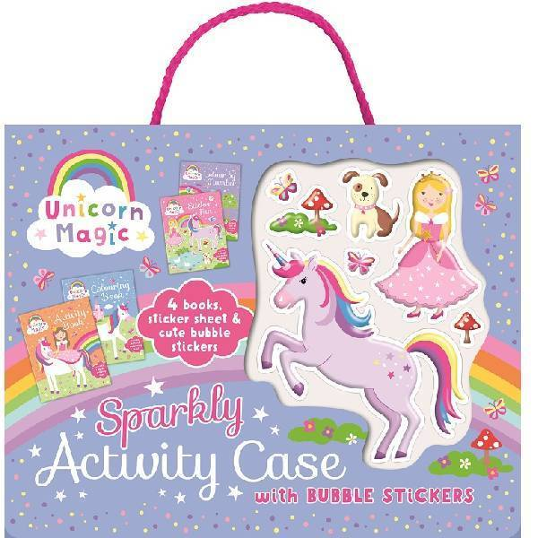 Unicorn Magic Bubble Sticker Activity Case