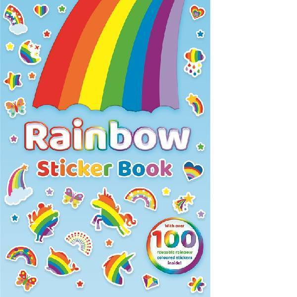 Rainbow Sticker Book