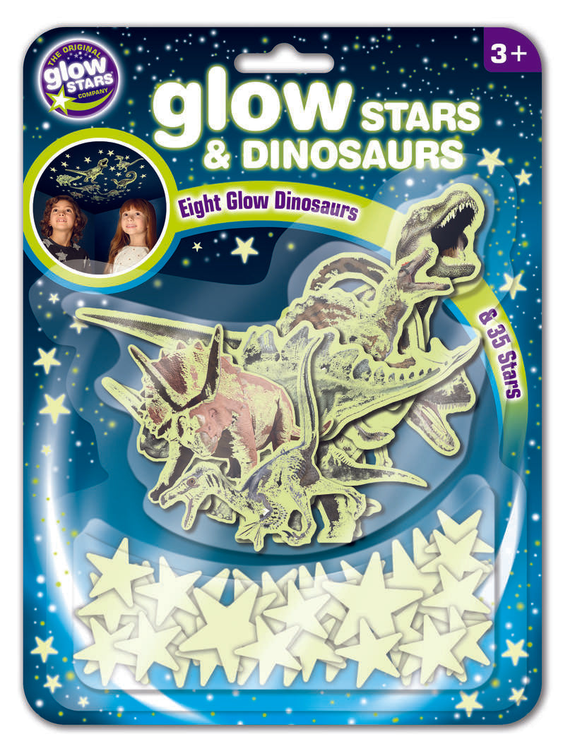 Glow Stars and Dinosaurs