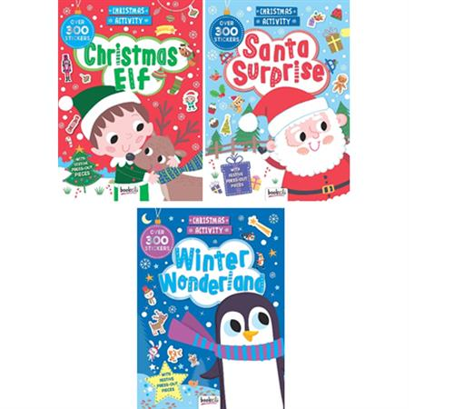 Christmas Activity Books - 3 Styles Available