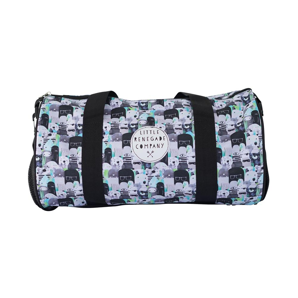 Little Renegade Company | Bears and Beasties Duffle Bag