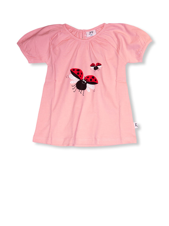Scarlet Ladybird Puffy T-Shirt