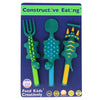 Constructive Eating - Dinosaur 3 Piece Cutlery Set
