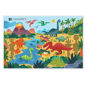 Constructive Eating - Dinosaur Placemat