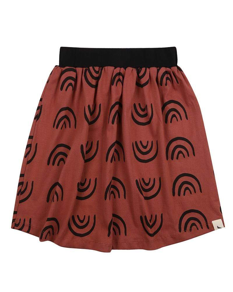 No Rain, No Rainbows Midi Skirt