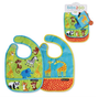 Little Jungle Bib Set of 2 + Pouch