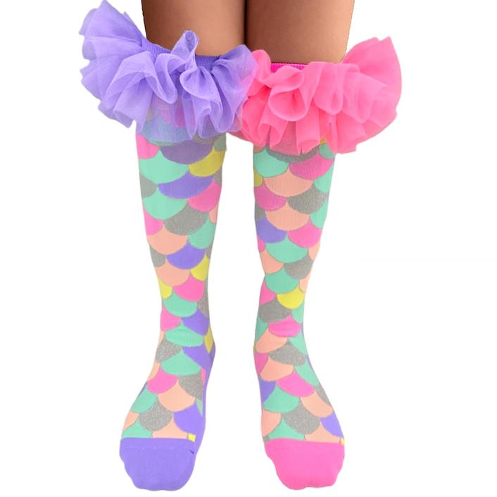 MadMia |  Mermaid Frill Socks