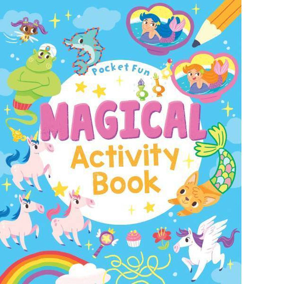 Pocket Fun Magical Activity Book