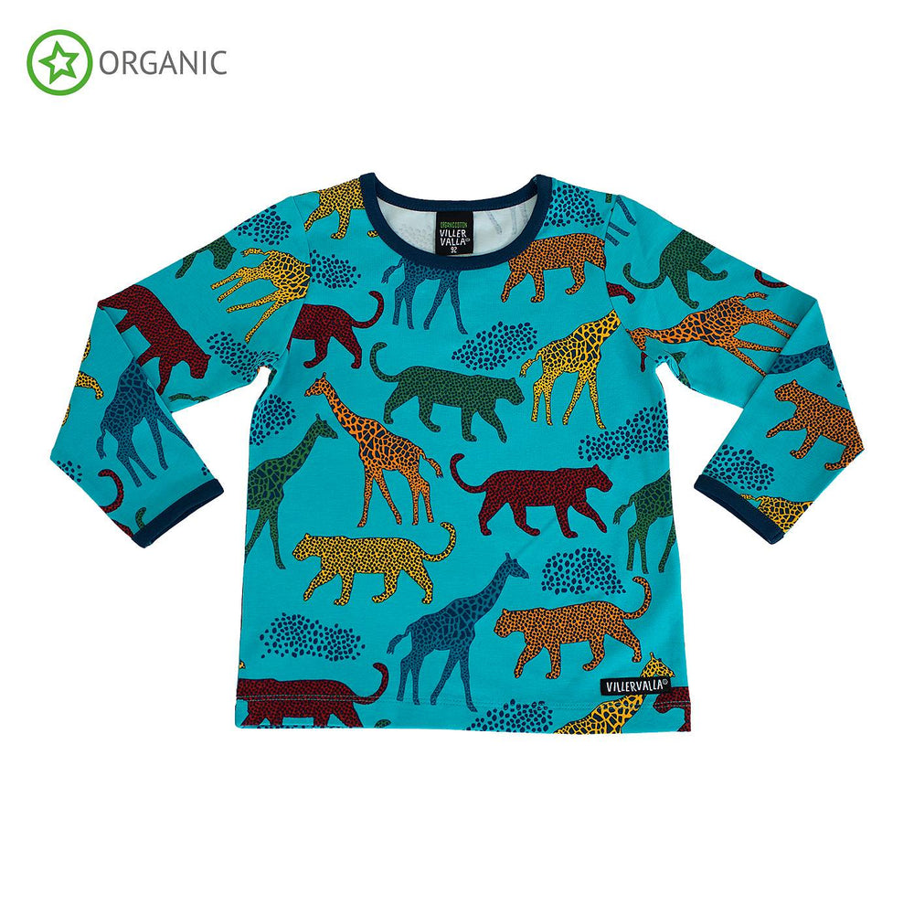 Savannah Animal Lagoon Long Sleeve T-Shirt