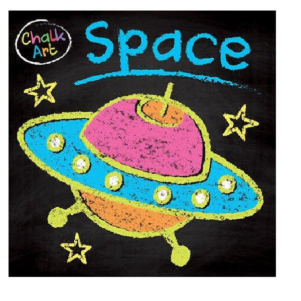 Chalk Art - Space