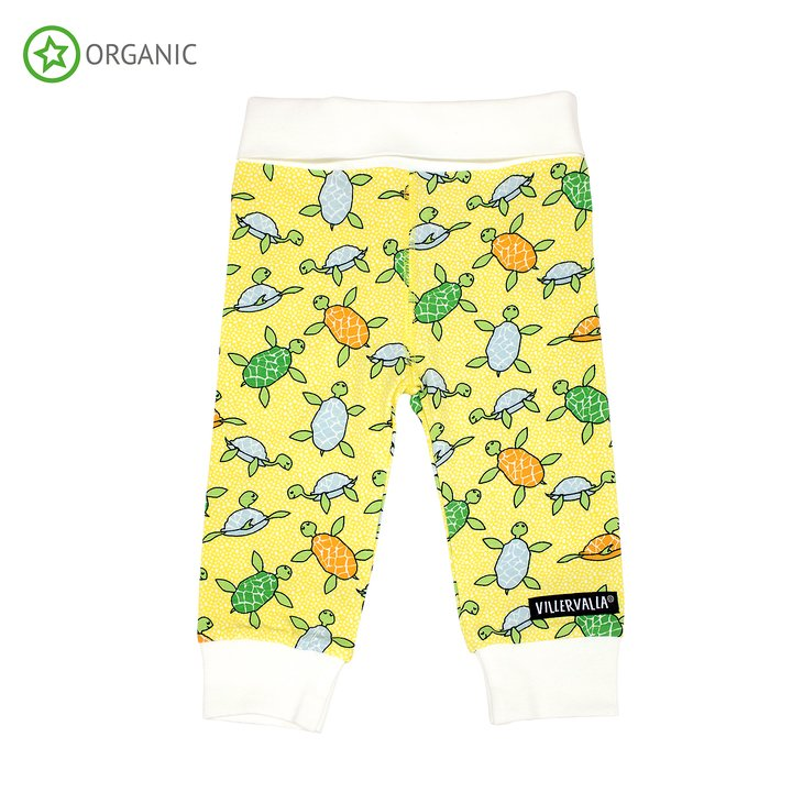 Sun Turtle Leggings with Cuffs