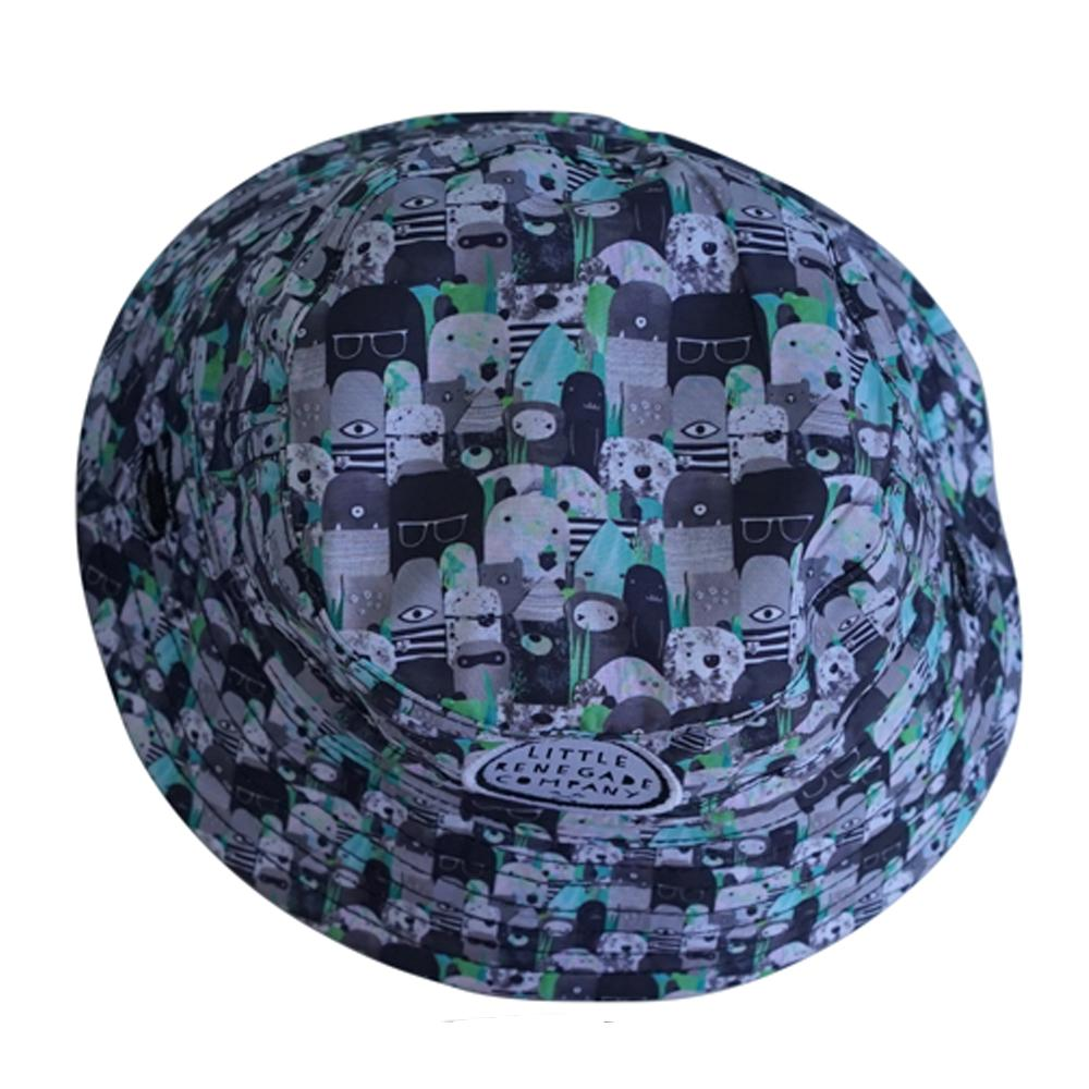 Bears and Beasties Reversible Bucket Hat