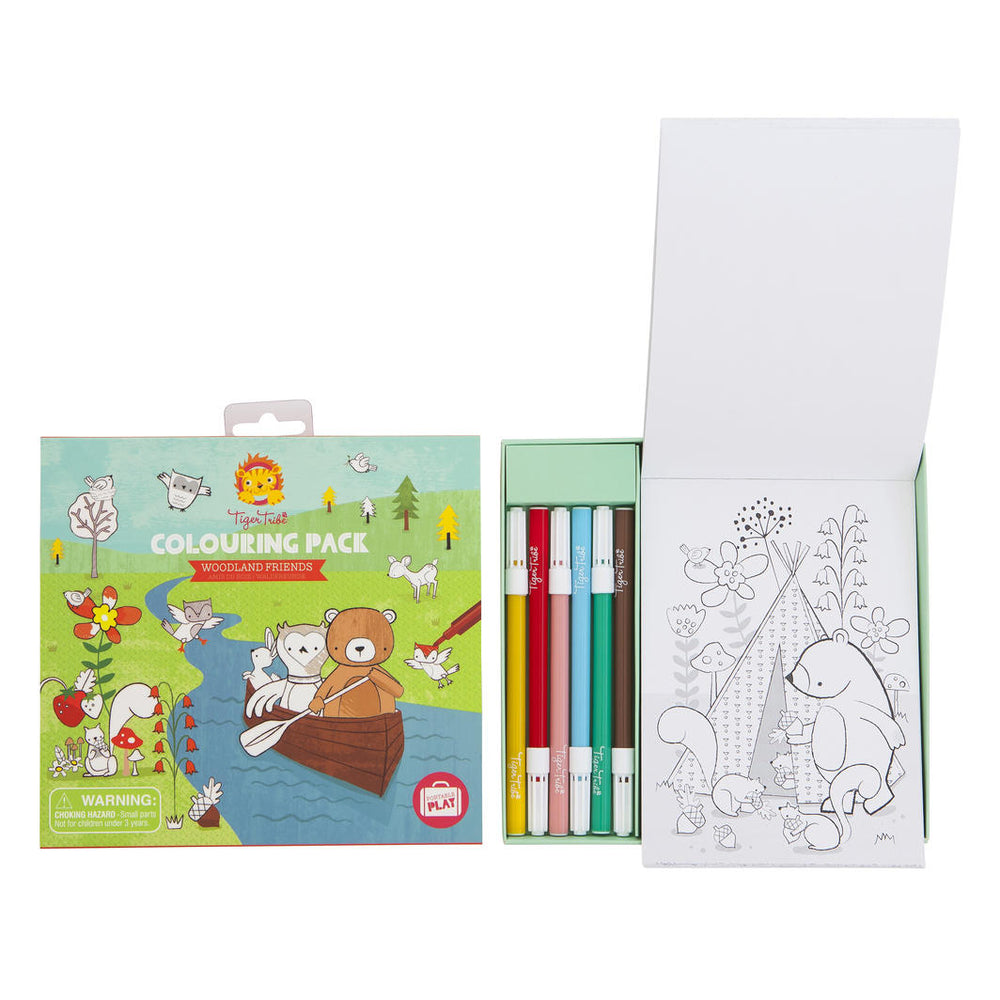 Woodland Colouring pack