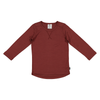 LFOH | Wyatt Long Sleeve Tee | Currant