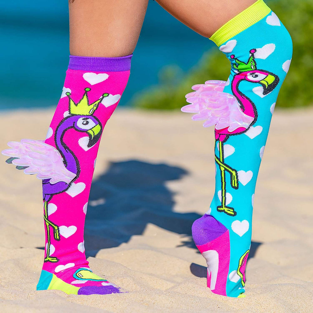 Flying Flamingo Socks