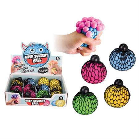 Squeeze Mesh Ball - Assorted Colours